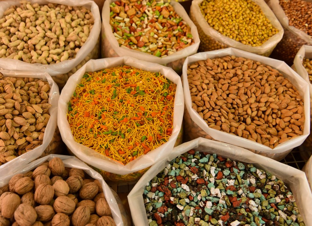 Goods in Bulk in a Market